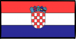 Croatia freehand drawings