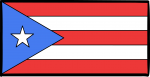 Puerto Rico freehand drawings