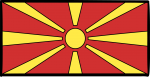 Republic Of Macedonia freehand drawings
