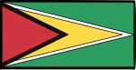 Guyana freehand drawings