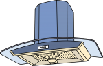 Chimney Cooker Hood freehand drawings