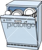 DishwasherFreehand Image