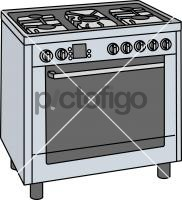 Gas CookersFreehand Image