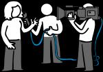 Journalist freehand drawings