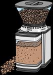 Coffee Grinder freehand drawings