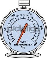 Oven ThermometerFreehand Image