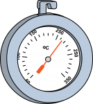 Oven Thermometer freehand drawings