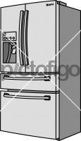 RefrigeratorFreehand Image