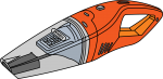 Vacuum Cleaner freehand drawings