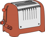 Toaster freehand drawings