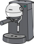 Coffee Maker freehand drawings