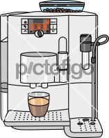 Coffee MakerFreehand Image
