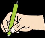 Writing freehand drawings