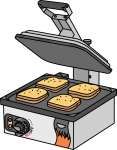 Sandwich Toaster freehand drawings