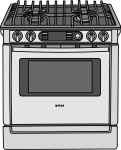Range Cookers freehand drawings
