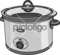 Slow CookerFreehand Image