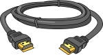 HDMI Cable freehand drawings