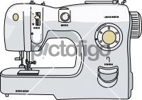 Sewing MachineFreehand Image