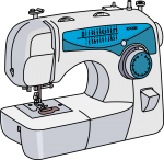 Sewing Machine freehand drawings