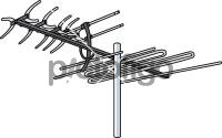 TV AntennaFreehand Image