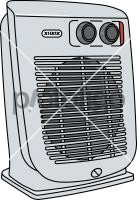 Heater FanFreehand Image