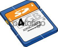Memory CardFreehand Image