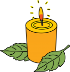 Candle freehand drawings