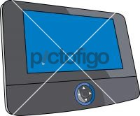 Dvd Player PortableFreehand Image