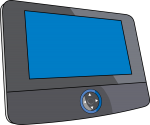 Dvd Player Portable freehand drawings