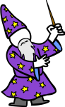 Wizard freehand drawings