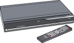 Dvd Recorder freehand drawings