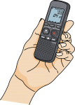 Voice Recorder freehand drawings