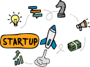 Startup freehand drawings