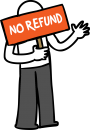 No Refund