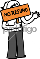 No RefundFreehand Image