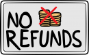 No Refund freehand drawings