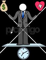 Work Life BalanceFreehand Image