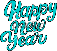 Happy New YearFreehand Image
