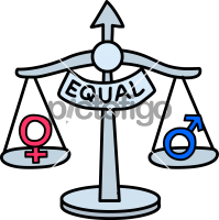 Gender EqualityFreehand Image