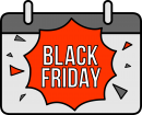 Black Friday Shopping freehand drawings