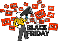 Black Friday ShoppingFreehand Image