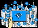 WiFi freehand drawings