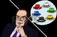 Six thinking hatsFreehand Image