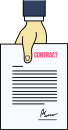 Contract freehand drawings