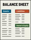 Balance Sheet freehand drawings