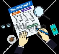 Balance SheetFreehand Image