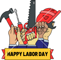 Labor DayFreehand Image