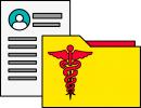 Medical Dossier freehand drawings