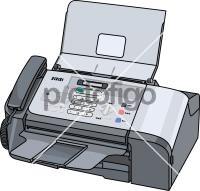 Fax MachineFreehand Image
