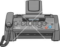 Fax MachineFreehand Image